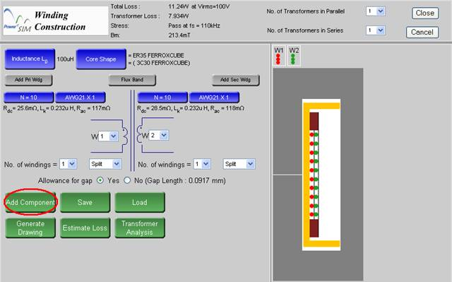 Magnetics Builder Design Magnetic Inductor And Transformer Tool Software