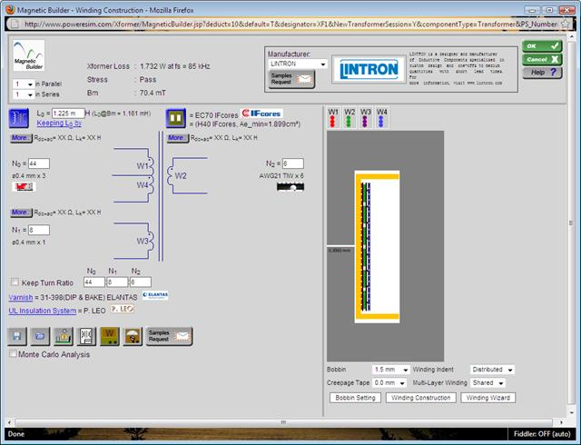 Magnetics Builder Magnetic Design Software Design Magnetic Inductor And Transformer Tool